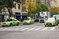 New York City Boro Taxis Stock Images