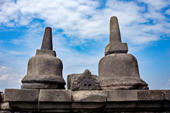 Borobodur古老遗产 免版税库存照片