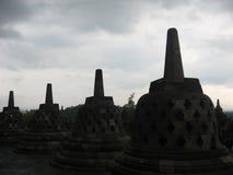 Borobodur, Indonésie Photos stock