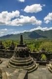 Borobodur - templo budista Fotografía de archivo