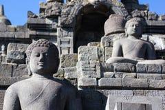 borobudur印度尼西亚寺庙 库存图片