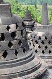 borobudur印度尼西亚Java寺庙日惹 免版税库存照片