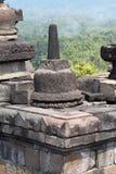 borobudur印度尼西亚Java寺庙日惹 免版税图库摄影