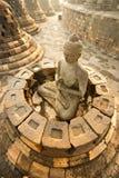 borobudur印度尼西亚Java寺庙日惹 库存照片