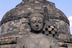 borobudur印度尼西亚Java寺庙 免版税库存图片
