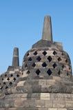 Borobudur寺庙在日惹 免版税库存照片
