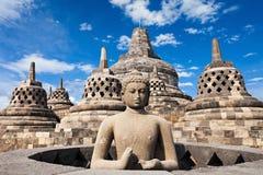 Borobudur寺庙 免版税图库摄影