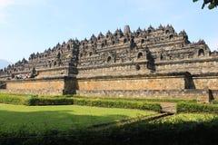 Borobudur寺庙 免版税库存图片