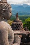 Borobudur的菩萨 免版税库存照片