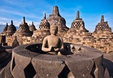Borobudur świątynia Fotografia Royalty Free