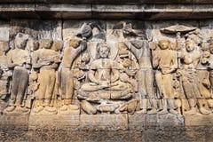 Borobudur Świątynia fotografia stock