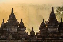 Borobudur świątynia, Yogyakarta, Jawa, Indonezja zdjęcia royalty free