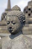 borobudur Βούδας στοκ φωτογραφία