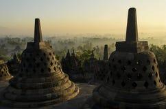 Borobudur Ινδονησία Στοκ Φωτογραφία