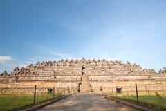 borobudur ναός καταστροφών στοκ εικόνες