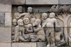 borobudur ναός της Ινδονησίας Ιάβα Στοκ Εικόνες