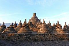 borobudur ναός stupa καταστροφών Στοκ Φωτογραφίες