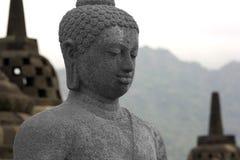 Borobudur, Индонезия Стоковое Изображение RF