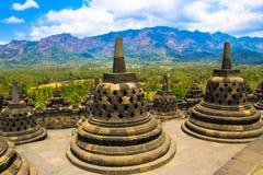 Borobudur imagens de stock royalty free