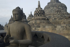 Borobudur. The Borobudur Temple, Java, Indonesia royalty free stock photography