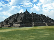 Borobudur. In the morning, Jogjakarta, Indonesia Royalty Free Stock Photography
