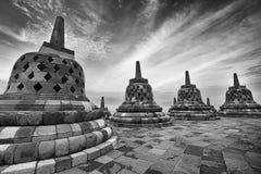 Borobudur001 Fotografia Stock Libera da Diritti