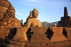 Borobudur Στοκ φωτογραφία με δικαίωμα ελεύθερης χρήσης