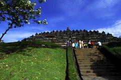 borobudur κεντρικός ναός της Ινδονησίας Ιάβα Στοκ Εικόνα