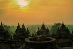 Borobudur Fotografia de Stock Royalty Free
