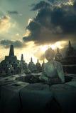 Borobudur Fotos de Stock