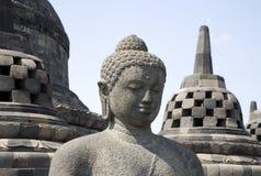 Borobudur 9 Fotografia Stock Libera da Diritti