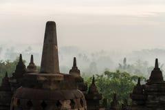 Borobudur ancient stone stupa Royalty Free Stock Photography