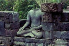 Borobudur buddha ruins Royalty Free Stock Photography