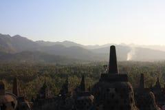 Borobudur Buddha Temple Ancient Stock Photography