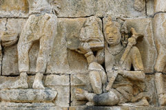 Borobudur Buddhist temple Stock Photography