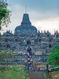 Borobudur Buddhist temple with Stone Carving, Magelang,  Java Stock Photos