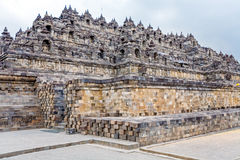 Borobudur Buddhist temple with Stone Carving, Magelang,  Java Stock Images