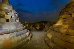 Borobudur Buddist Temple - island Java Indonesia Royalty Free Stock Photo