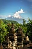Borobudur Buddyjska świątynia Obrazy Stock