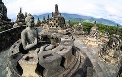 Borobudur Candi Immagini Stock Libere da Diritti