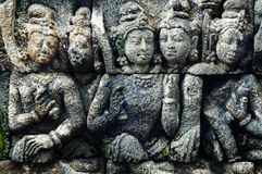 borobudur d'art Photographie stock