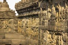 Borobudur de soulagements Photo libre de droits