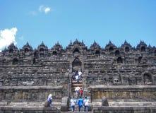 Borobudur di Candi Fotografia Stock