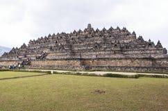 Borobudur-Erbe in Yogyakarta, Indonesien Lizenzfreie Stockbilder