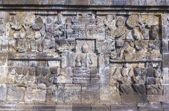 Borobudur-Erbe in Yogyakarta, Indonesien Lizenzfreie Stockfotografie