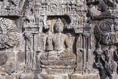 Borobudur-Erbe in Yogyakarta, Indonesien lizenzfreie stockfotos