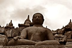 Borobudur III stock photography