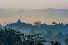 borobudur Indonesia świątynia Obraz Stock