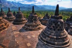 Borobudur Indonesia. Taken in 2011 Royalty Free Stock Photo
