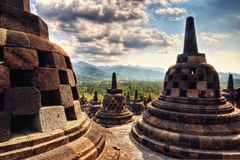 Borobudur Indonesia. Taken in 2011 Stock Image